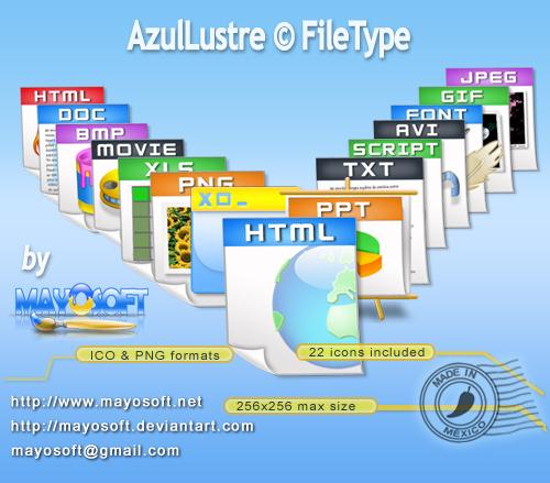 Иконки типов файлов