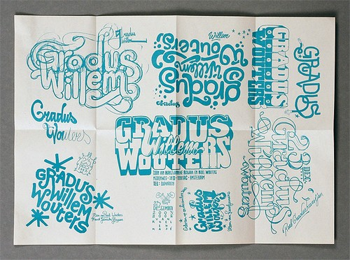 Job Wouters lettering & calligraphy