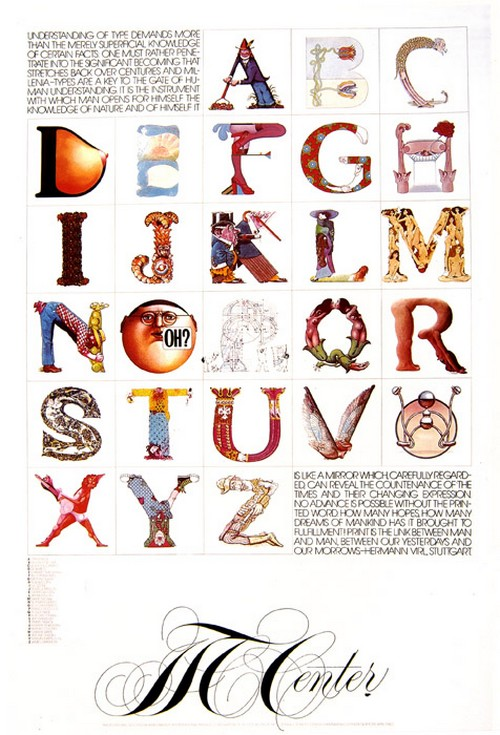 herb lubalin lettering & callygraphy