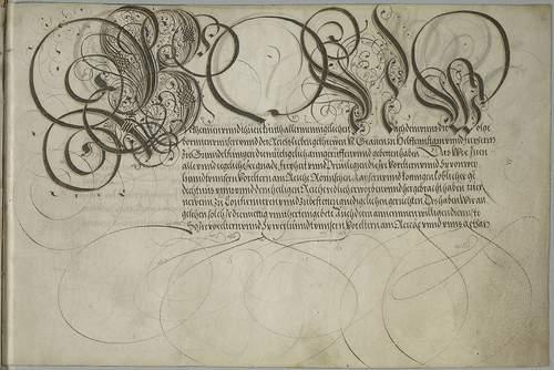 старая каллиграфия