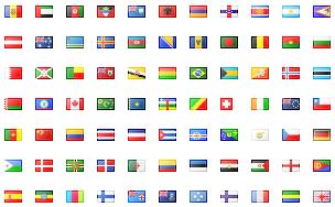 иконки флагов стран