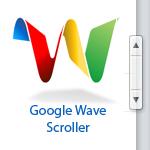 Google Wave Скроллер