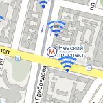 Маркеры в Google Maps