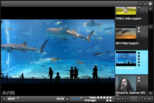HTML5 видеоплеер: OSM Player