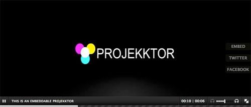 HTML5 видеоплеер: Projekktor