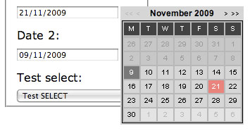 jQuery datepicker