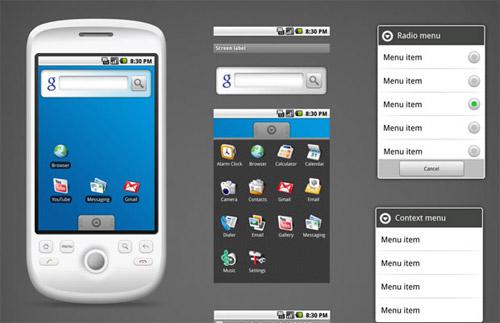 40 мобильных устройств в формате PSD
