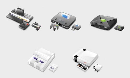 Иконки игровых консолей