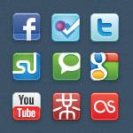 Иконки — ежемесячный выпуск №11 (иконки социальных сетей)