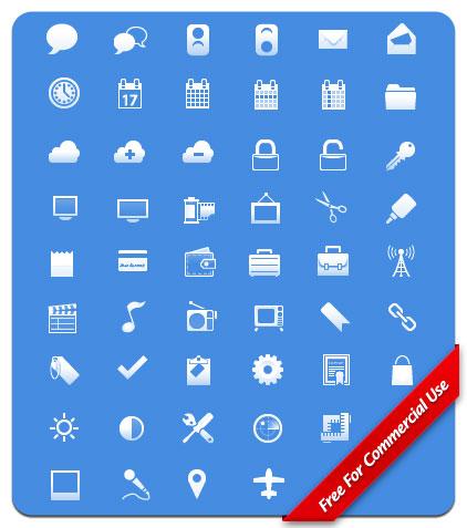Набор иконок для тулбара айФона
