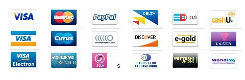 Иконки кредитных карт