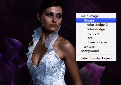 Клавиатурные сокращения Photoshop: создание слоя