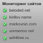 Сервисы для мониторинга доступности сайта