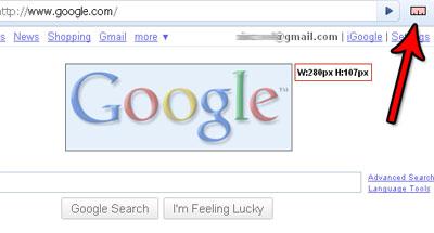 Google Chrome MeasureIt!