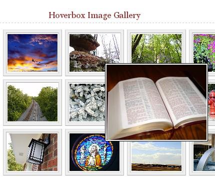 Галерея Hoverbox